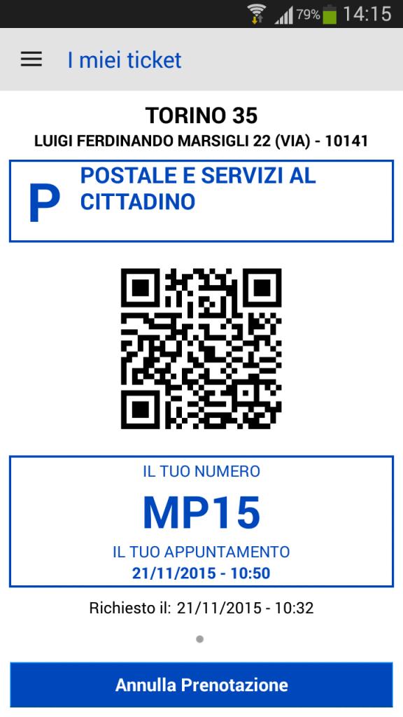 App Ufficio Postale - ABloG