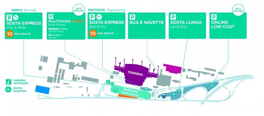 Parcheggi aeroporto car2go ablog - Cucine on line low cost ...